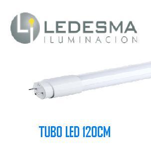 TUBO LED CRISTAL LEDESMA 120CMS 18W 6000K  2 AÑOS DE GARANTIA